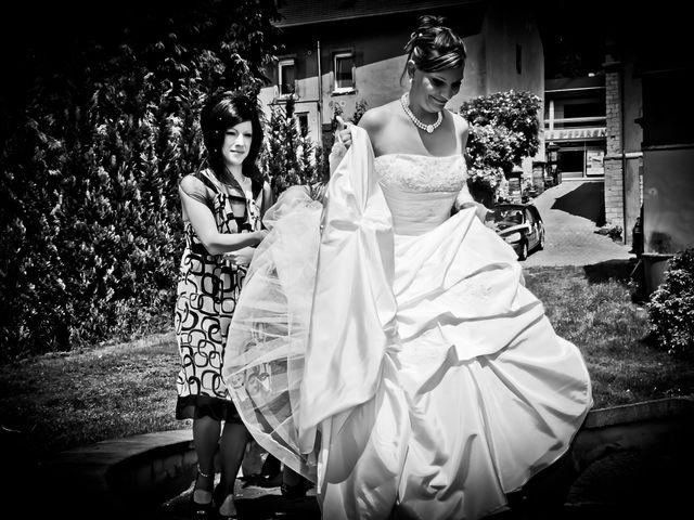 Le mariage de Michael et Jessica à Petite-Rosselle, Moselle 12