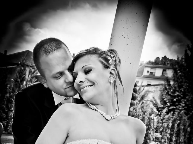 Le mariage de Michael et Jessica à Petite-Rosselle, Moselle 62
