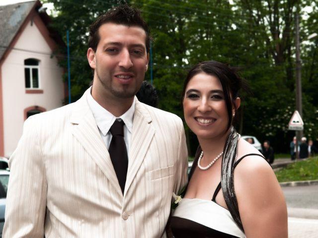 Le mariage de Michael et Jessica à Petite-Rosselle, Moselle 386