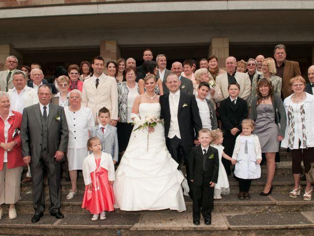 Le mariage de Michael et Jessica à Petite-Rosselle, Moselle 392