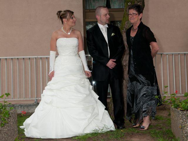 Le mariage de Michael et Jessica à Petite-Rosselle, Moselle 447