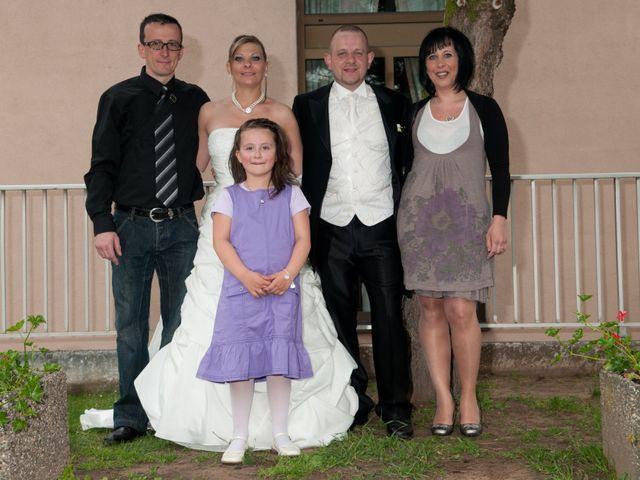 Le mariage de Michael et Jessica à Petite-Rosselle, Moselle 456