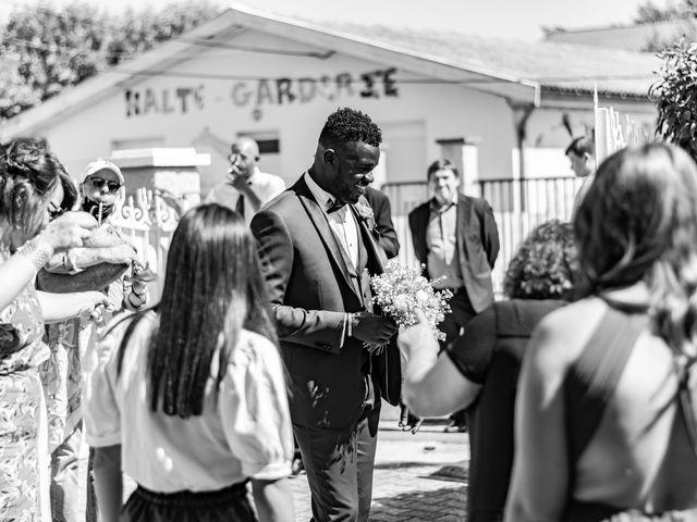 Le mariage de Célia et Oumar à Charvieu-Chavagneux, Isère 1
