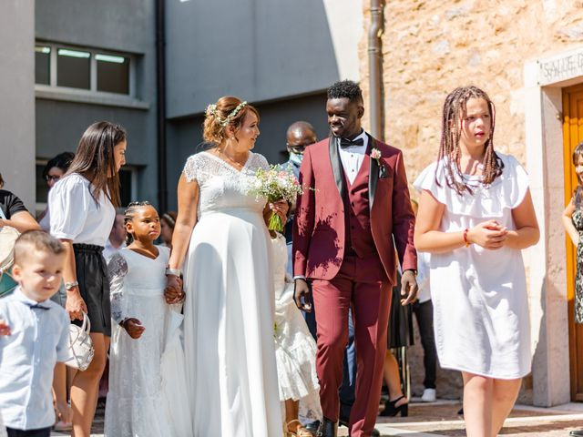 Le mariage de Célia et Oumar à Charvieu-Chavagneux, Isère 16