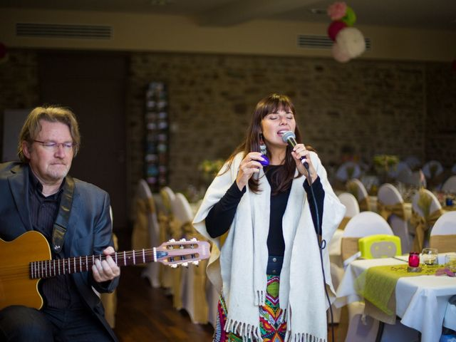 Le mariage de Julien et Mélanie à Beignon, Morbihan 16