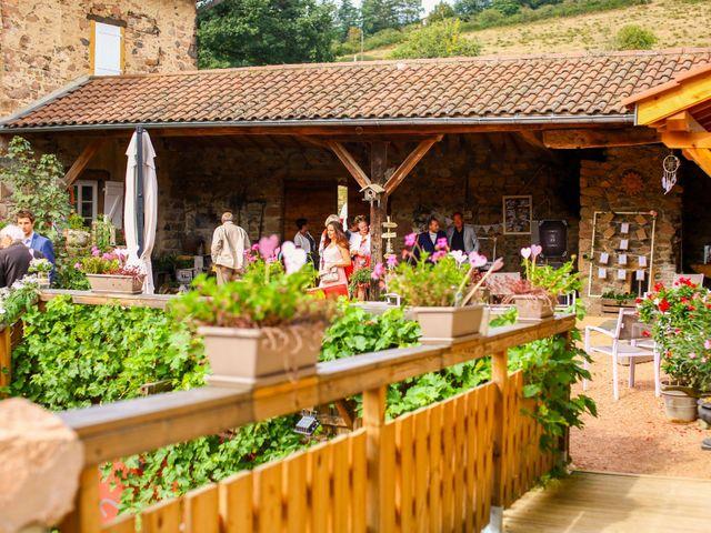 Le mariage de Yohan et Justine à Chambost-Allières, Rhône 26