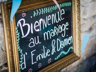 Le mariage de Emilie et Damien 1