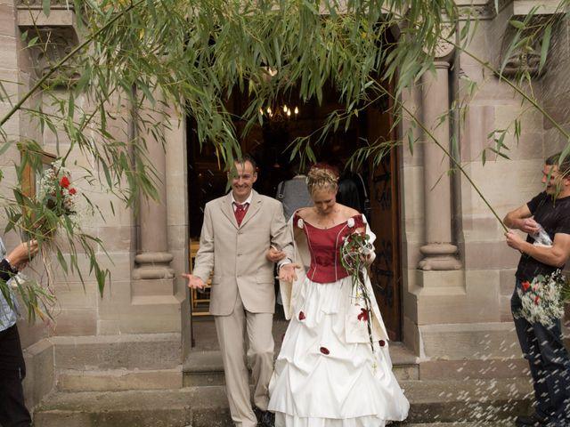 Le mariage de Julien et Aurélie à Masevaux, Haut Rhin 343