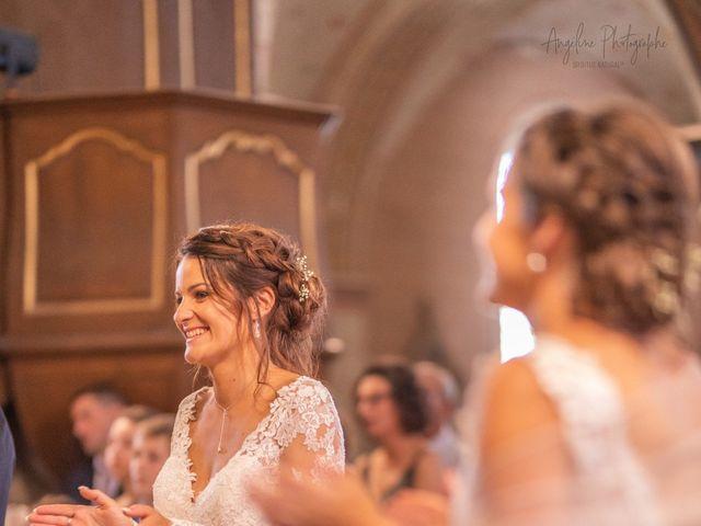Le mariage de Anthony et Anne-Laure à Chemazé, Mayenne 12