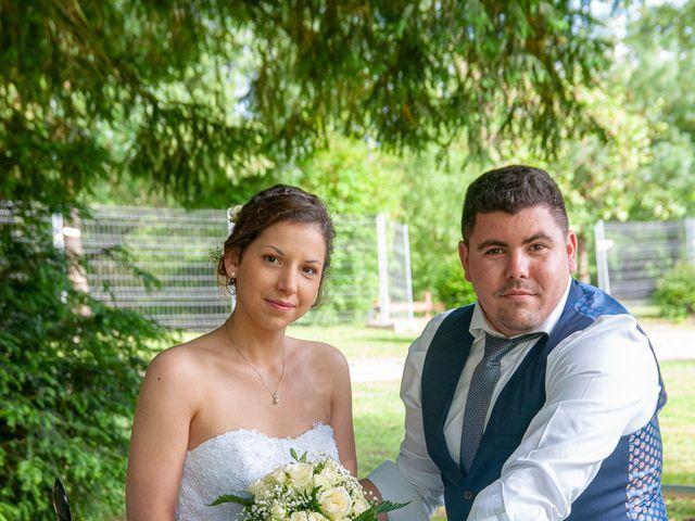 Le mariage de Camille et Bérénice à Laigné-en-Belin, Sarthe 9
