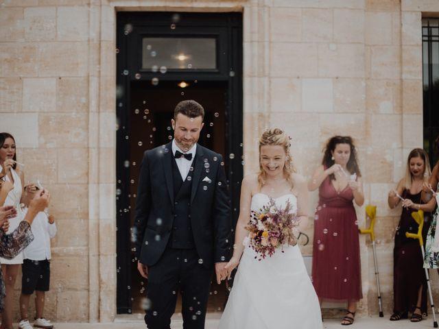 Le mariage de Frédéric et Sophie à Saint-Germain-d'Esteuil, Gironde 2