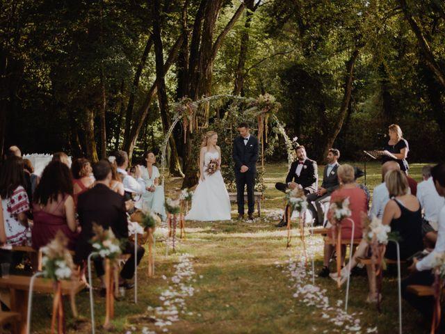 Le mariage de Frédéric et Sophie à Saint-Germain-d'Esteuil, Gironde 9