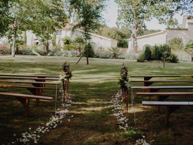 Le mariage de Frédéric et Sophie à Saint-Germain-d'Esteuil, Gironde 13