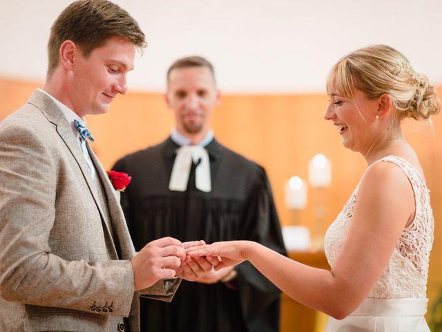 Le mariage de Karl et Julie à Lingolsheim, Bas Rhin 6