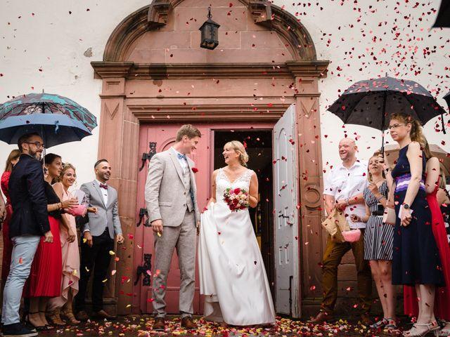 Le mariage de Karl et Julie à Lingolsheim, Bas Rhin 1