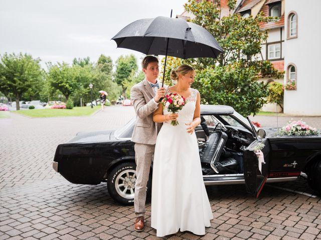 Le mariage de Karl et Julie à Lingolsheim, Bas Rhin 8