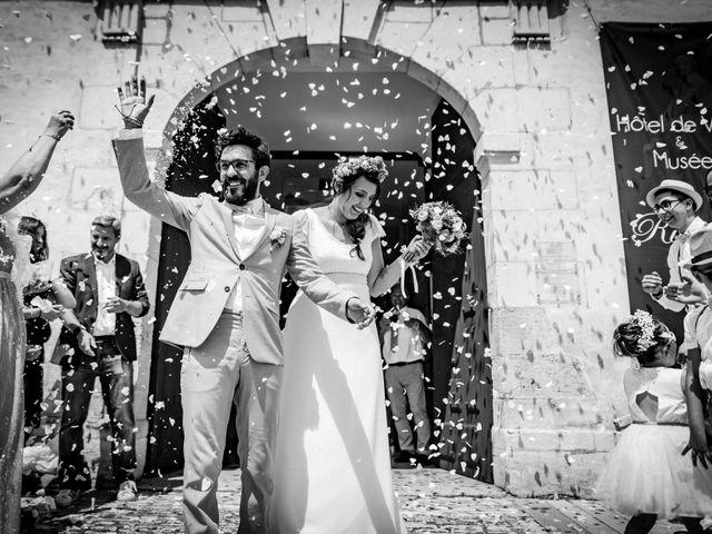 Le mariage de Damien et Emilie à Bossée, Indre-et-Loire 9