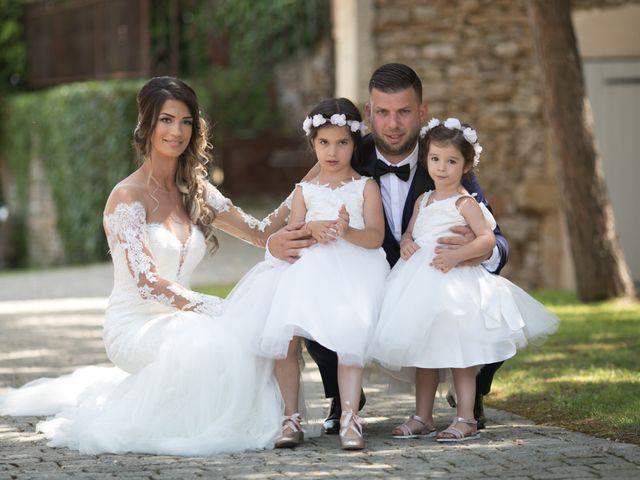 Le mariage de Dimitri et Angélique à Jonage, Rhône 36