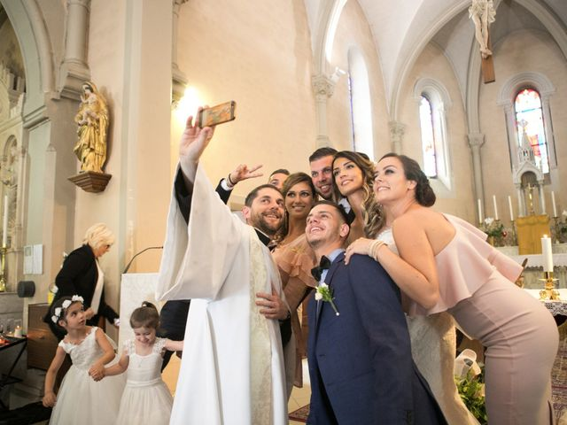 Le mariage de Dimitri et Angélique à Jonage, Rhône 42