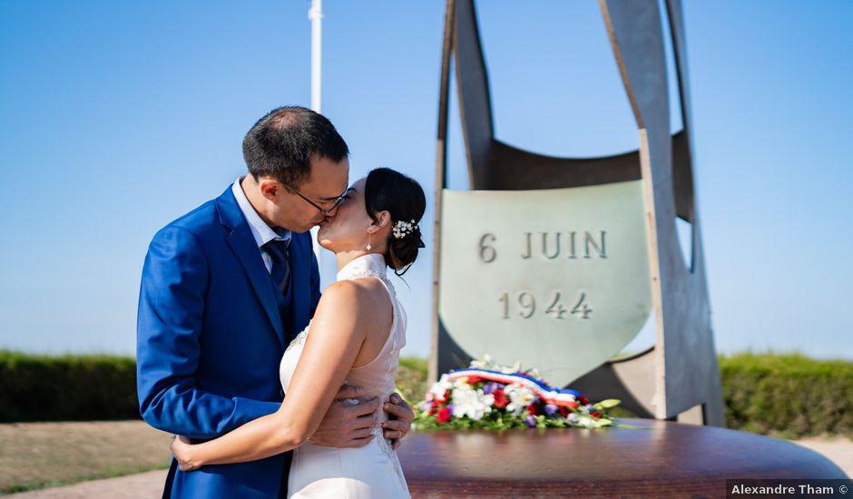 Le mariage de Alexandre et Linda à Ouistreham, Calvados