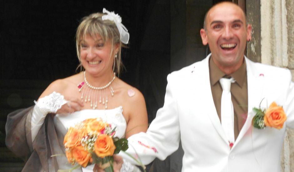 Le mariage de Cathie et Stéphane à Saint-Chef, Isère