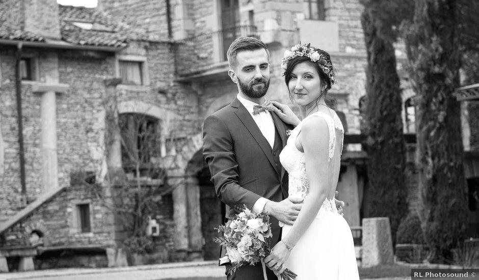 Le mariage de Yann et Marine à Lacenas, Rhône