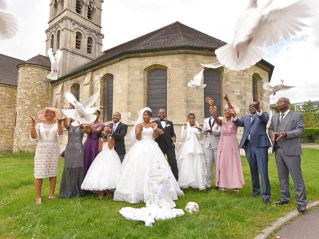 Le mariage de Fritz et Véronique à Deuil-la-Barre, Val-d'Oise 12