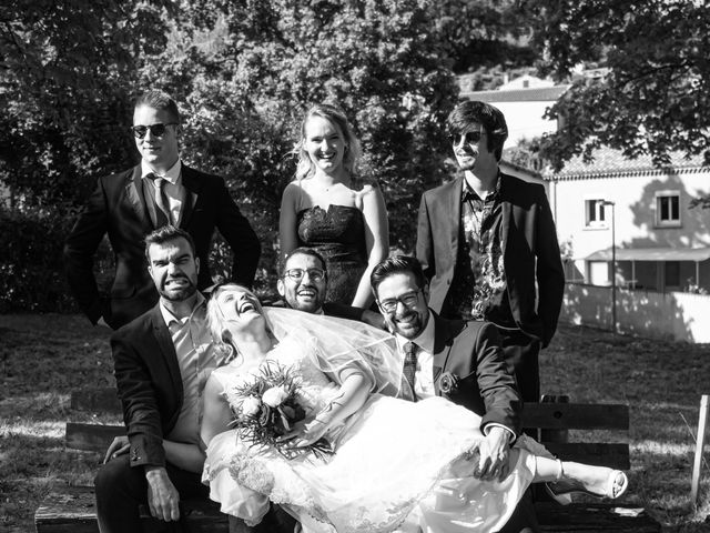 Le mariage de Geoffrey et Julie à Tournon-sur-Rhône, Ardèche 20