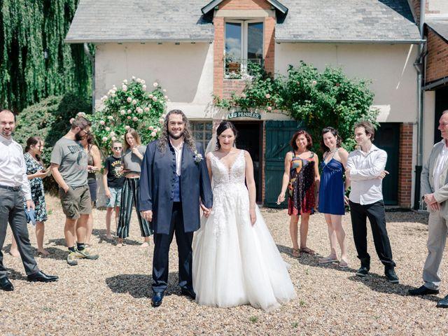 Le mariage de Fred et Lucie à Sully-sur-Loire, Loiret 2