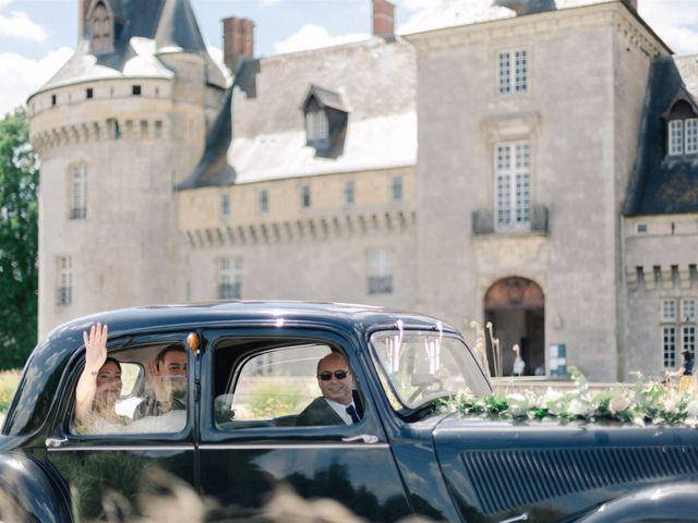 Le mariage de Fred et Lucie à Sully-sur-Loire, Loiret 9