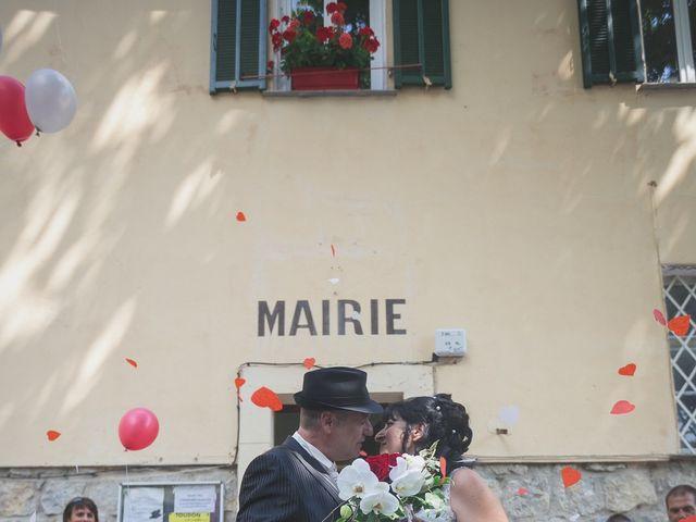 Le mariage de Fred et Monique à Toudon, Alpes-Maritimes 12