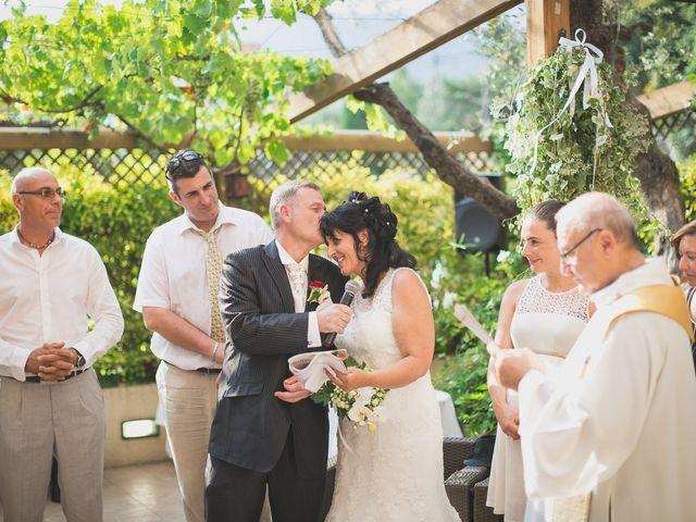 Le mariage de Fred et Monique à Toudon, Alpes-Maritimes 20