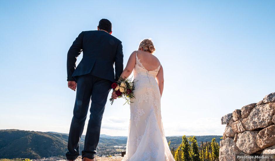 Le mariage de Geoffrey et Julie à Tournon-sur-Rhône, Ardèche