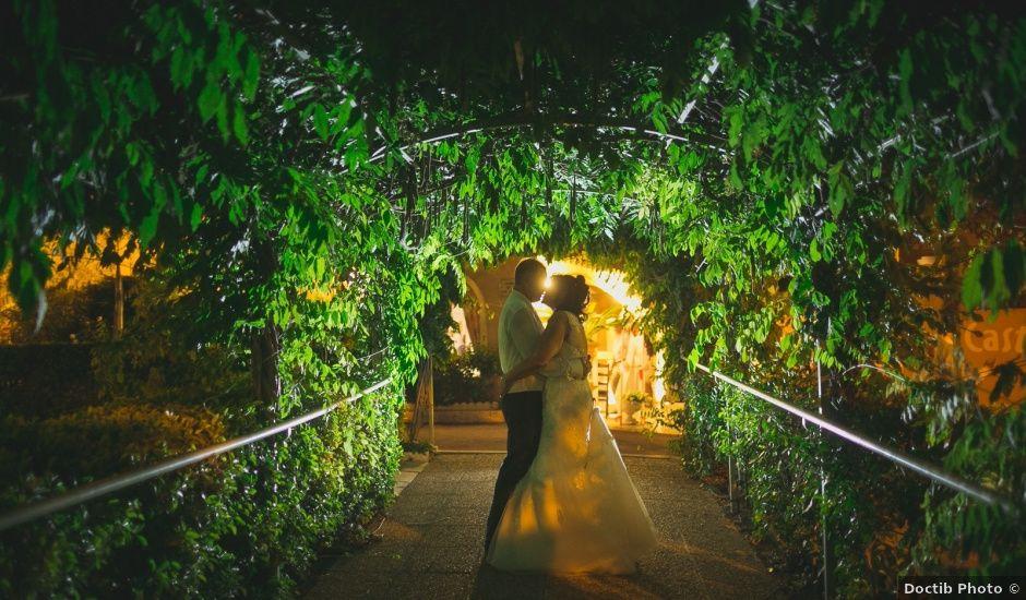 Le mariage de Fred et Monique à Toudon, Alpes-Maritimes