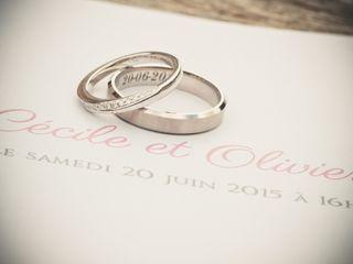 Le mariage de Cécile et Olivier 2