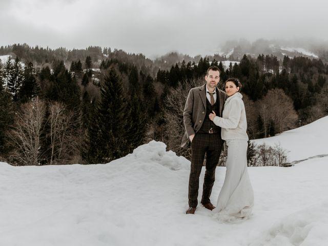 Le mariage de Thibaut et Emilie à La Clusaz, Haute-Savoie 32