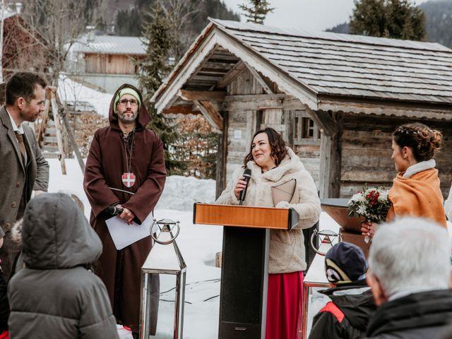 Le mariage de Thibaut et Emilie à La Clusaz, Haute-Savoie 45