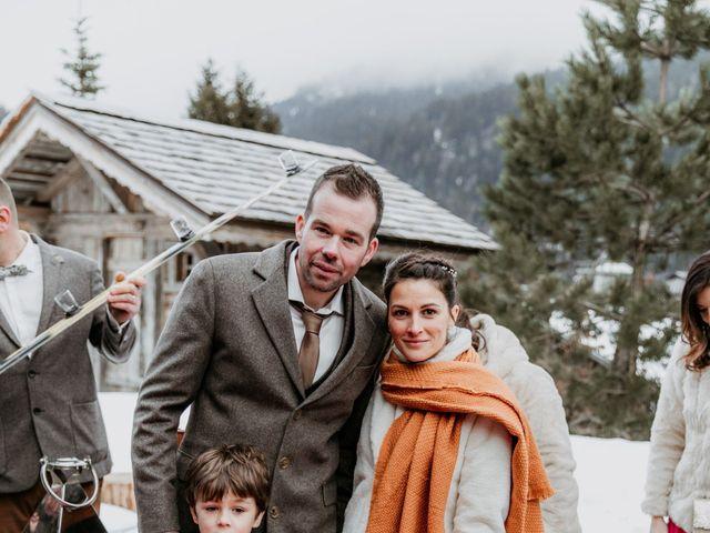 Le mariage de Thibaut et Emilie à La Clusaz, Haute-Savoie 58