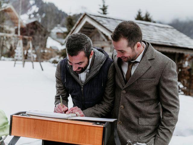 Le mariage de Thibaut et Emilie à La Clusaz, Haute-Savoie 64