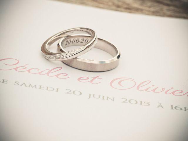 Le mariage de Olivier et Cécile à Nozay, Essonne 1