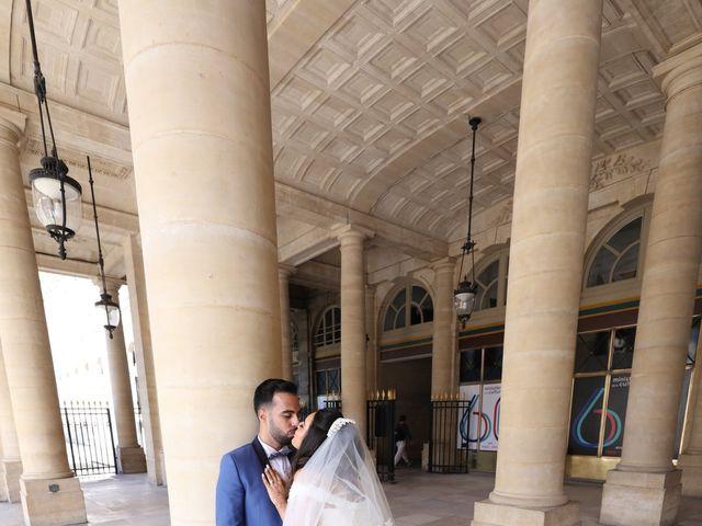 Le mariage de Adel et Souaad à Paris, Paris 53