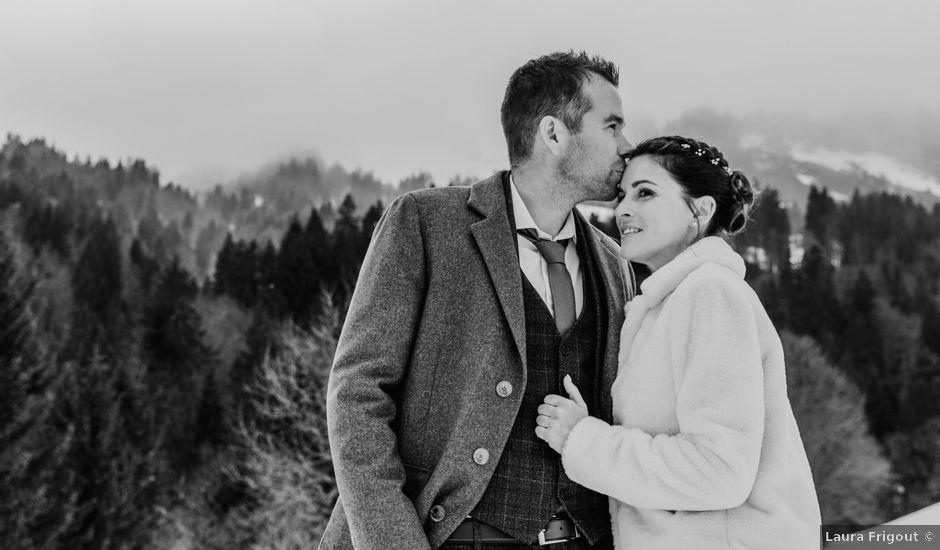 Le mariage de Thibaut et Emilie à La Clusaz, Haute-Savoie