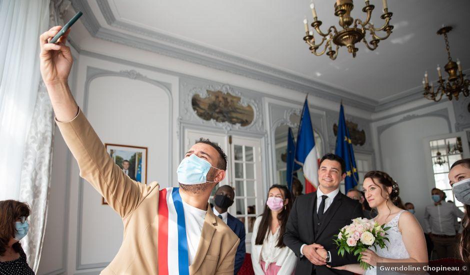 Le mariage de Valentin et Alexandra à Athis-Mons, Essonne