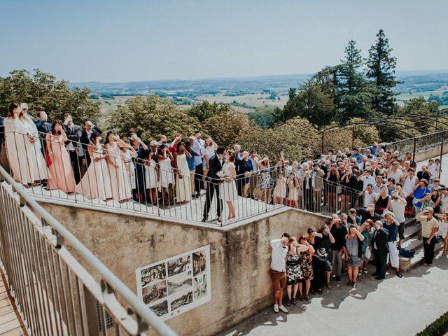 Le mariage de Alexandre et Lauranne à Lautrec, Tarn 16