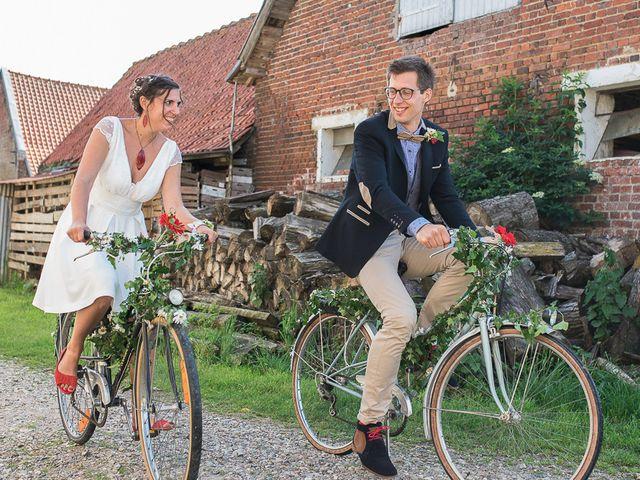 Le mariage de Jerome et Leslie à Noordpeene, Nord 26