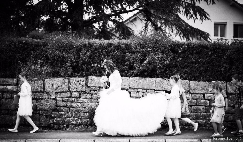 Le mariage de Cyrille et Magali à Champlive, Doubs