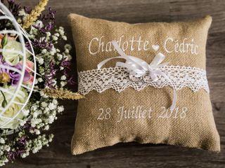 Le mariage de Charlotte et Cédric 1