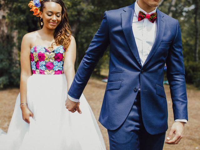 Le mariage de Xavier et Kendgerly à Lège-Cap-Ferret, Gironde 15