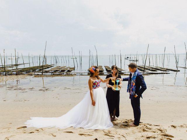 Le mariage de Xavier et Kendgerly à Lège-Cap-Ferret, Gironde 41