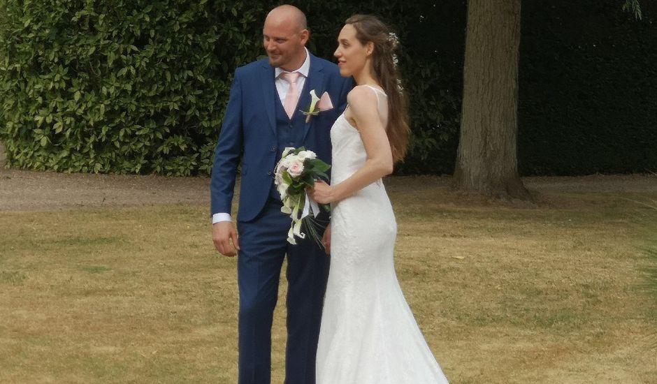 Le mariage de Romain et Élodie à Arrou, Eure-et-Loir